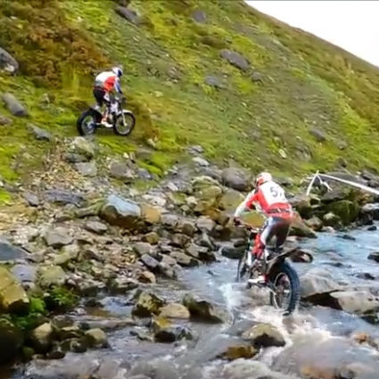 HARDEST TRIAL IN THE WORLD- Scott Trial 2016 - Motoclub della Superba - Genova