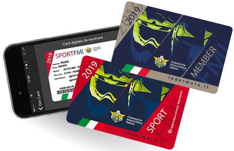 Tessere Federmoto FMI 2019 - Sport e Member- Motoclub della Superba - Genova